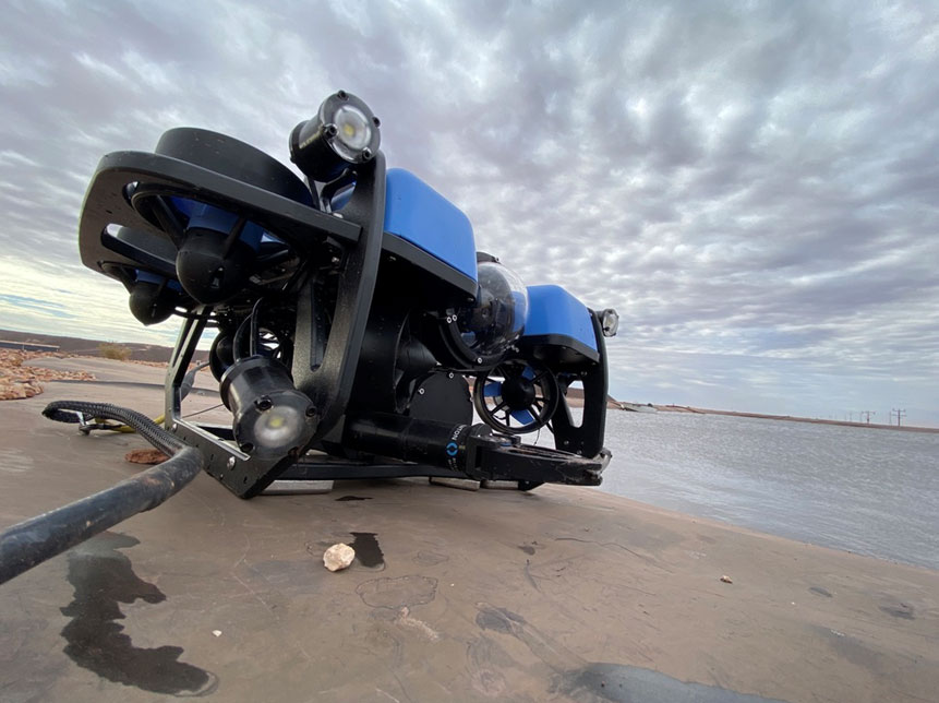 ROV Services Australia Underwater remotely operated vehicle
